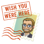 vacation stamp bitmoji